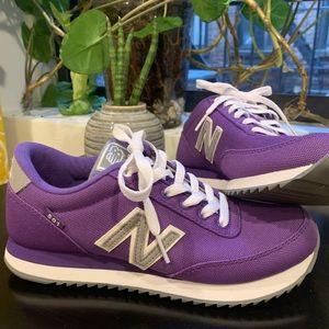 New Balance 501 Purple Sneaker